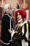 Servant and Queen - Trinity Blood by Kibamarta