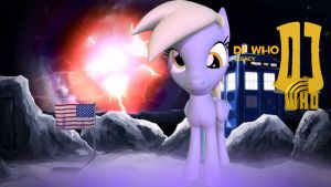 DJ Who Legacy Derpy Hooves by TheProdigy100