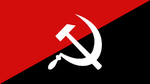 Anarchist Hammer and Sickle by OmicronPhi