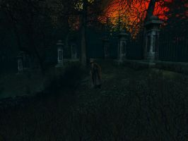 Haunted house background 9 by indigodeep