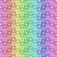 Colorful Frame Pattern by Humble-Novice