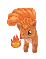 Vulpix Day by thelemonge