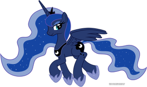 Trotting Luna by Proenix
