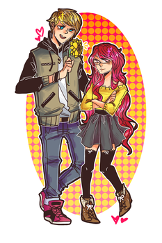 Couple Commission! by pikmama