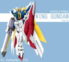 Wing Gundam ver E by eyetypher