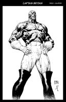 Captain Britain 1 Commission by JonathanGlapion