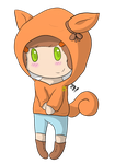 .:RQ:. Autumn Chibi by CollectionOfWhiskers