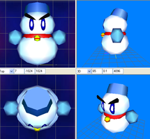 KCCh- Chilly model by GBAKirbster2007