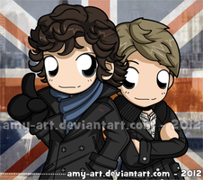 Sherlock by amy-art