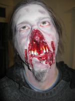 My friend Phil as a Zombie by damocles-shop