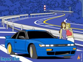 Initial-D Nissan Sil-Eighty by R-SiN14