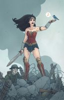 Wonder Woman - War and Peace by AndrewKwan