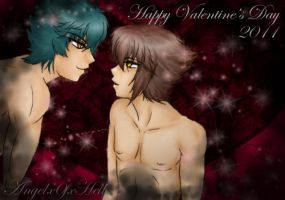 Happy Valentine's Day 2011 by Angelx0fxHell