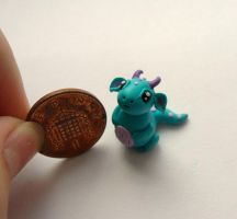 Charles the diddy dragon by Stefimoose