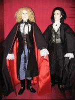 Lestat and Louis by LordofPaderne