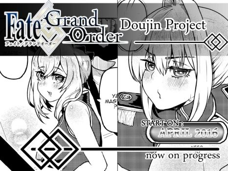 Fate Grand Order - Doujinshi project by kaitsuart