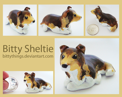 Bitty Sheltie - Gift by Bittythings