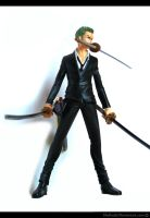 OP Strong World: Zoro Figure 2 by sheiku92
