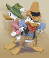 Young Scrooge and Flintheart by Xanadu7