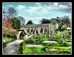 Gwennap Church by Pjharps