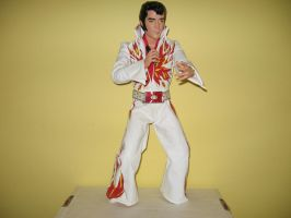 Elvis Presley Figure 1 (70's) by RoyPrince