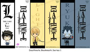DN Bookmark Series 1 by Hyokenseisou