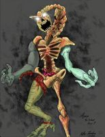 Apep: The Undead Kaiju Redesign Colored by JeffreyTrudeau