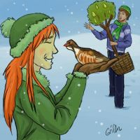 01 - Partridge in a Pear Tree by Griffin-Fire
