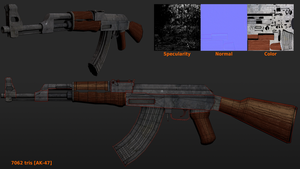 AK-47 retextured by betasector