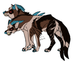 Hellhound character auction! CLOSED by Psitt