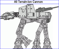All Terrain Ion Cannon by MarcusStarkiller