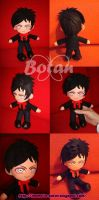 chibi Zacky Vengeance 02 plush version by Momoiro-Botan