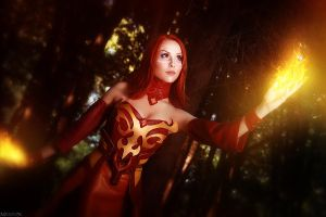 Dota 2 Lina by ShlachinaPolina