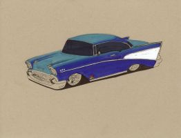 WiP 57 chevy by Jepray
