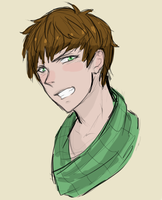 Cathal Sketch by tohbioh