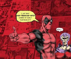 Deadpool beats mag by FuneraLOfHeartS0