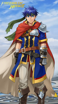 Fire Emblem Heroes - Ike (iPhone 6 Wallpaper) by russell4653