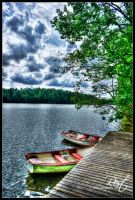 Rest at the lake by talsei