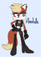 Annabelle the Fox! by Metal-Harbor