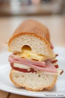 Ham and cheese sandwich 2 by patchow