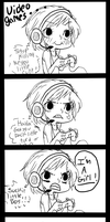 Me and Video Games.... by ChocoRevolution