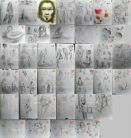 Sketchbook Compilation Spr2011 by shortpinay
