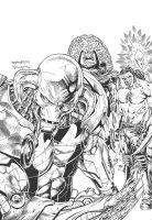 LORD HAVOK cover 6 inked by LiamSharp