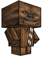 Cubee - Chewbacca by 7ater