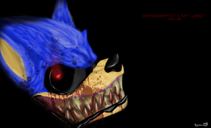 Sonic.exe by BrutalDyingBreed