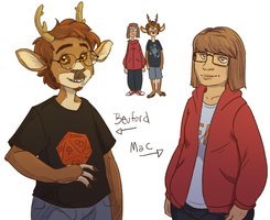 Holographic Memories - Beuford and Mac by In-Tays-Head