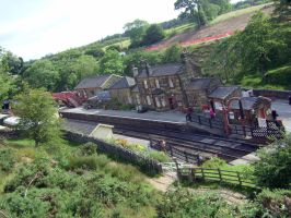 goathland  station Nymr ,aidensfield,hogsmeade by Sceptre63