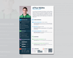 CV - Resume Design by atty12