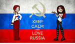Keep calm and respect russians by KiraCactus