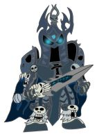 Pocket Fighter Lich King by alienhominid2000
